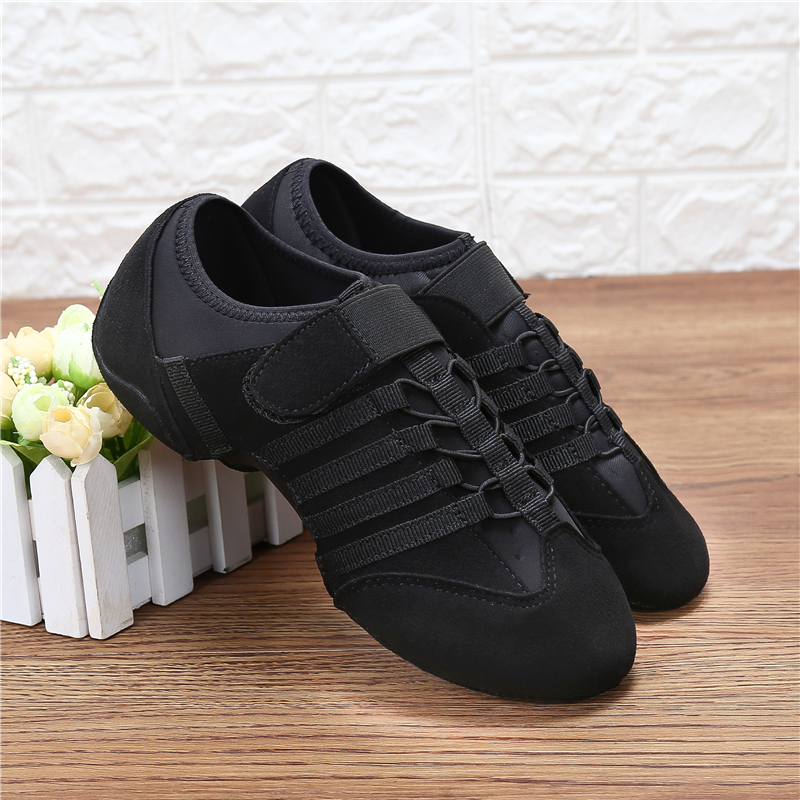 Dance Shoes Woman Spring Jazz Latin Shoes Indoor Modern Dancing Shoes Ladies Summer Breathable Sneakers Party Shoes For Women