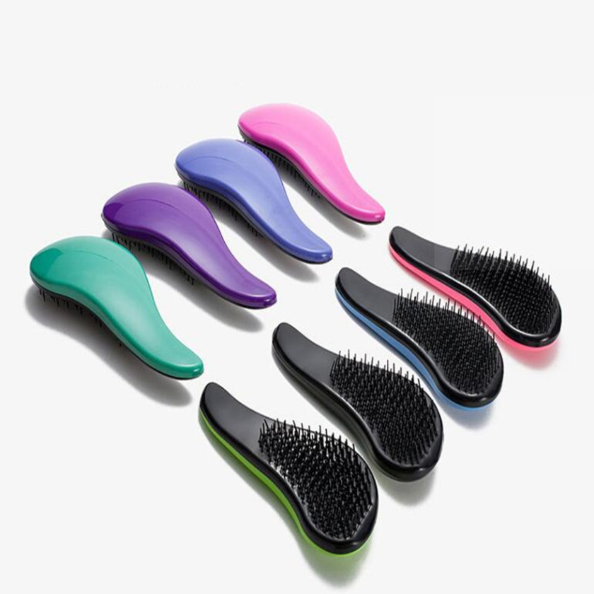 Free shipping Magic Detangling Handle Tangle Shower font b Hair b font Brush Comb Salon font