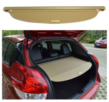 For TOYOTA Yaris L 2014 2015 2016 2017 Rear Trunk Cargo Cover Security Shield Screen shade High Qualit Car Accessories image