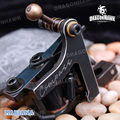 Free shipping Compass Tattoo Machine Mariana Liner 8 Wraps Steel Frame Copper Coils WQ2063-1
