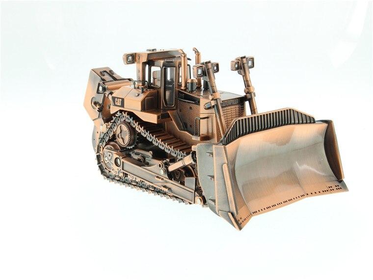 Rare modèle de jouet moulé sous pression cadeau, DM 1:50 chat D11T Type de piste tracteur bulldozer machines d'ingénierie finition cuivre 85517 pour la Collection