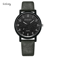 GOGOey Brand Women's Watches Fashion Leather WristWatch Women Ladies Casual Quartz Watch Mens Clock Mujer Relojes Mujer цены