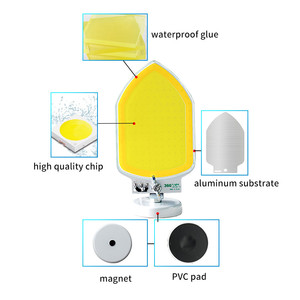 Image 5 - נטענת פנס נייד 12V LED מבול אור 100W 120W 150W עם מגנט motion חיישן חיצוני מבול אור חיפוש מנורה