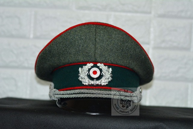 80cb7bce WW2 German WH-M36 Cap officer .Precision reproduction .full size. wool ,  Artillery