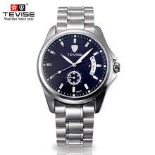 2016 Mecánico Automático Relojes de Los Hombres Top Brand TEVISE Lujo Reloj Del Calendario Luminoso Reloj Masculino Relojes Relogio masculino reloj