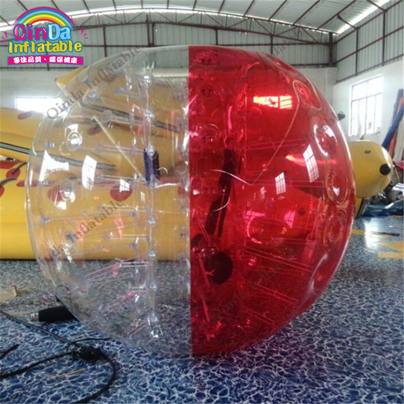 цена на Guangzhou factory human inflatable bumper ball,1.2 meters bubble soccer, bubble football for sale