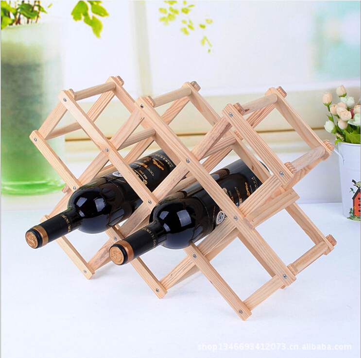 Wine Rack In Living Room Baby Blue Decor ᗗd Creative European Decoration Wood D Bottle Modern Minimalist Furnishings