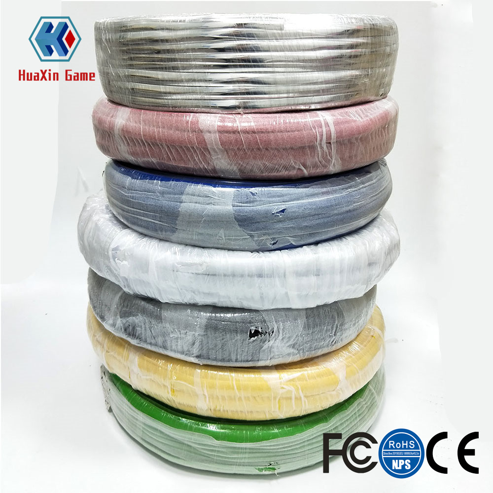 328ft 100m Length 16mm /19mm Width Plastic T-Molding T Moulding For Arcade MAME Game Machine Cabinet Chrome / Gold / Black