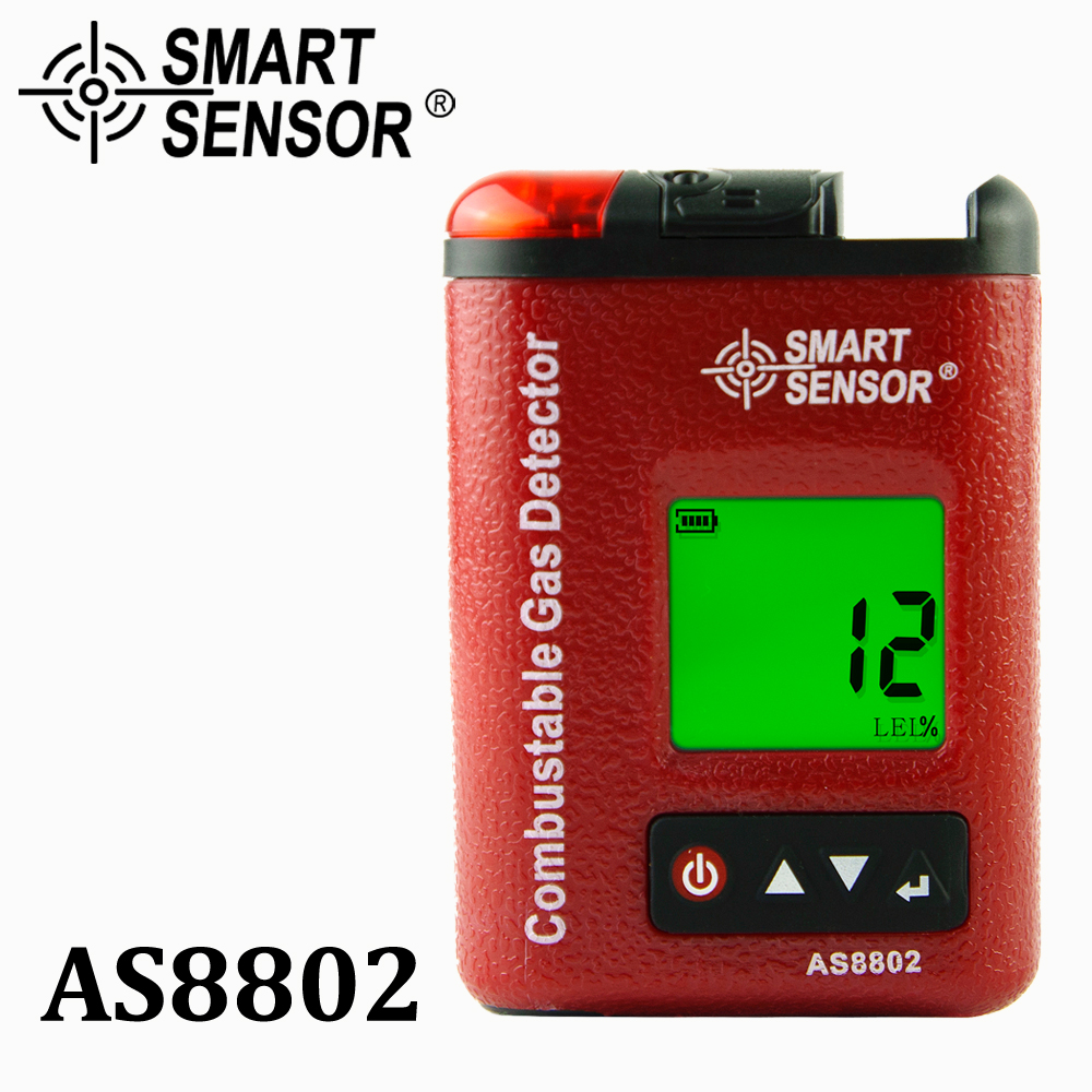 Combustible Gas Meter monitor gas leak detector Alarm Gasoline port flammable Natural Gas Analyzer 1-100%LEL Gas Location Tester high sensitivity combustible gas leak detector natural gas with sound and light alarms multifunction gas analyzer