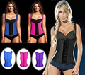 Mulheres colete corset shapewear body shaper emagrecimento camisa de suor cincher cintura perda de peso