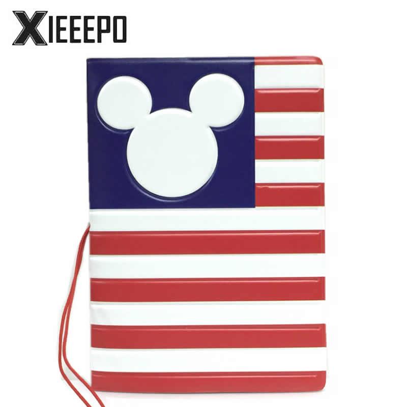 Творческий американский Минни для паспорта Чехлы для мангала искусственная кожа ID банковская карта мешок модные женские туфли для паспорт...