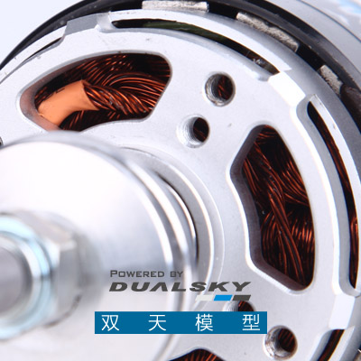 Dualsky XM6350DA3 model fixed-wing aircraft brushless motor F3A competition for the national team dedicated motor crown a2212 1400kv motor with installation kit for fixed wing rc drone brushless outrunner motor for aircraft quadcopter helicopter
