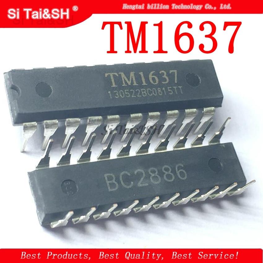 5 шт./лот DIP TM1637 DIP-20 светодиодный цифровой Драйвер IC