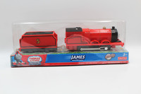 Electric Train Thomas And Friends Trackmaster James Medium Train Track Plastic Children Are Packed