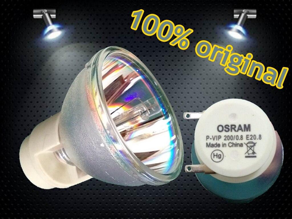 OSRAM P-VIP 200/0.8 E20.8 projector buld lamp (100% original) For ACER BenQ Optoma Projectors original projector lamp cs 5jj1b 1b1 for benq mp610 mp610 b5a