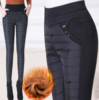 5XL 6XL 2018 Pants Women Winter Warm Leggings High Waist Casual Slim Women's Trousers Workout Plus Big Size Pantalon Femme
