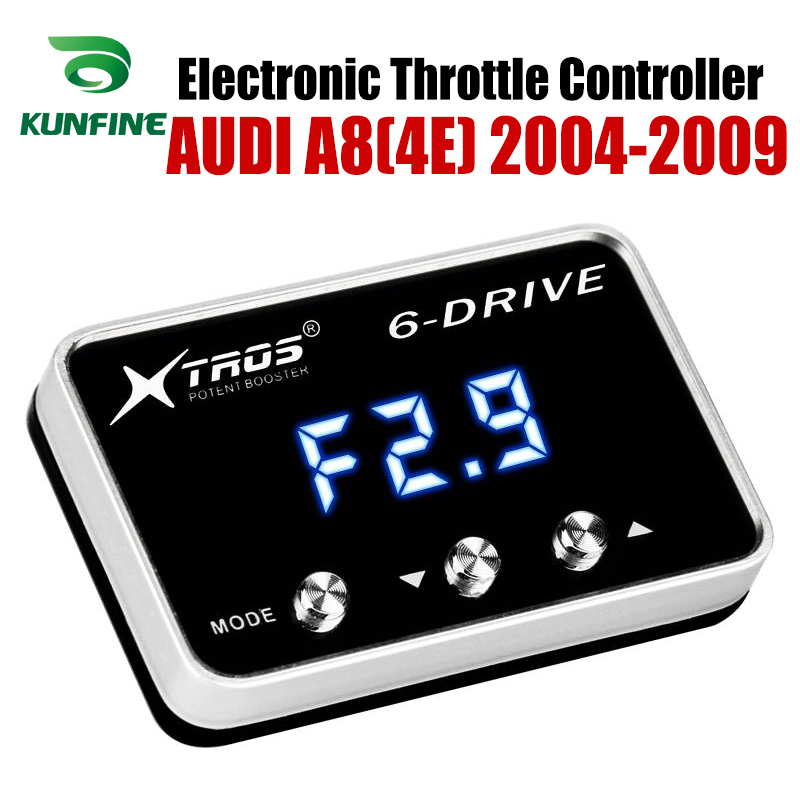 Car Electronic Throttle Controller Racing Accelerator Potent Booster For AUDI A7 2011-2019 3.0L V6-4.2L Tuning Parts Accessory