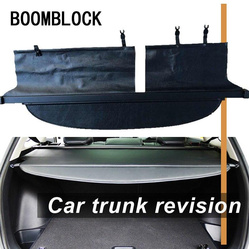Couvertures arrière de coffre de voiture pour Toyota Corolla Fielder 2018 2017 2016 2015 2014 2013 2012 protection de sécurité ombre Auto accessoires