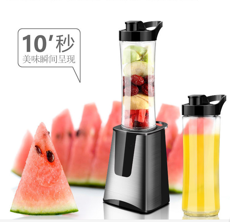 Mini juicer Multifunctional Juicer 220V VDE Plug Nutri Extractor Mixer Detachable Fruits Juicer Blender Portable juicer bear 220 v hand held electric blender multifunctional household grinding meat mincing juicer machine