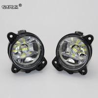 2pcs Car LED Light For Skoda Fabia MK2 2007 2008 2009 2010 Car Styling LED Fog