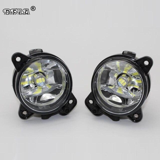 2pcs Car LED Light For Skoda Fabia MK2 2007 2008 2009 2010 Car-Styling LED Fog Light Fog Lamp