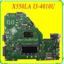 For Asus A550L,A550LA R510L R510LA X550L X550LA motherboard X550LD REV2.0 Mainboard With i3-4010U HD 4400 Fully Test