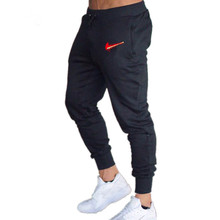 fashion brand New Mens Winter Track Pants Gyms Men Pants Cotton 2018 T