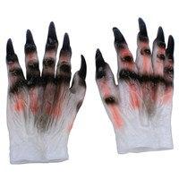 2017 Cadılar Bayramı Thriller parti resident Evil Hayalet pençeleri Pençeleri Pençeleri Cosplay Eldiven Ürpertici Zombiev Kostüm Partisi