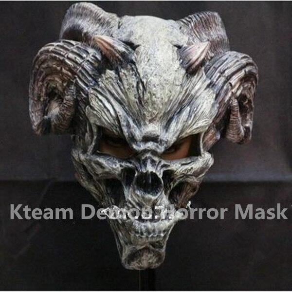 2017 Top Grade Realistic Full Head Bull Head Mask Demon