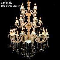 Longree Кристалл Светодиодная настольная свеча люстра Waterford хрустальная люстра части европейский дизайн люстры
