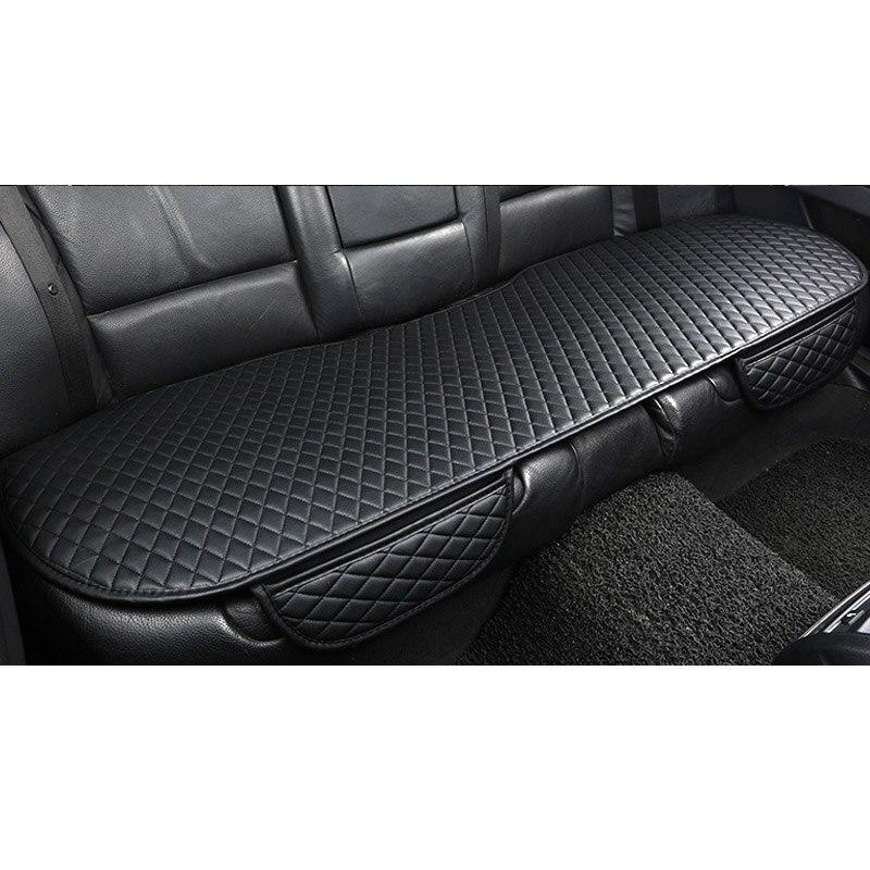 2018 brand new pu couro universal fácil instalar assento de carro ficar em lugares não-slide auto capas de almofada não se move automotivo almofadas