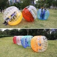 Бесплатная доставка 5 футов (1,5 м) Зорб футбол бампербол пузырь футбол Aufblasbar Spiel Rasen Farbeauswahl надувной шар для людей