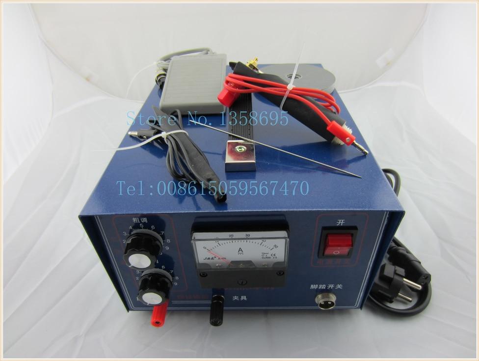 jewelry welding machine,110V with extra electrode,spot jewelry welder,sparkle welding machine,DX-50A jewelry welder