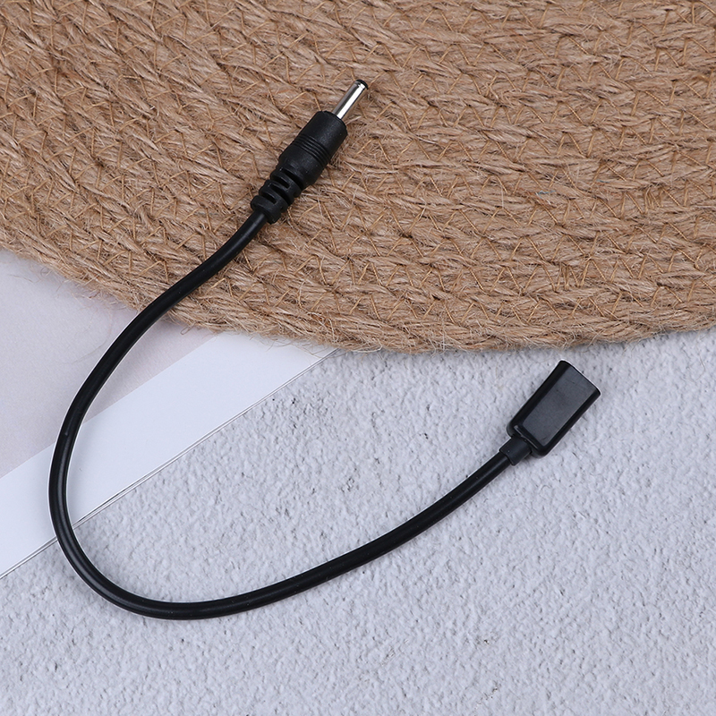 1PCS 20cm <font><b>DC</b></font> Power Micro Usb Female Socket To <font><b>Dc</b></font> Male <font><b>Plug</b></font> Adapter Cable Connectors <font><b>3.5</b></font> X <font><b>1.35mm</b></font> image