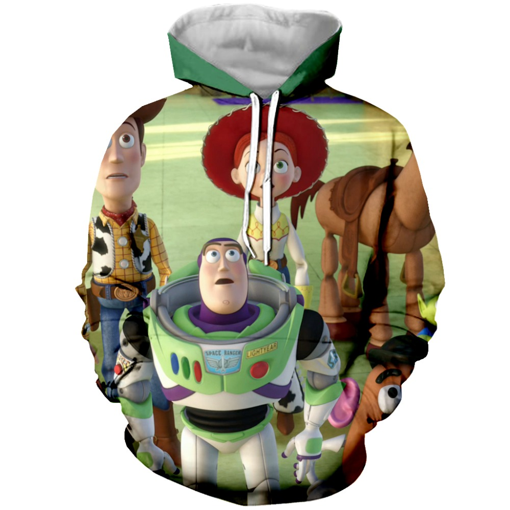 PLstar Cosmos Womens 3d Print Funny Toys Family Hoodie Hooded Sweatshirt for Women Man  Long Sleeve Pullover Tops Jacket