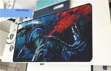 Monster Hunter mouse pad 70x40cm Adorable mousepads best gaming mousepad gamer cool new personalized mouse pads