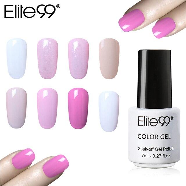 Elite99 Nail art Design Maniküre Gel Nagellack LED Lampe Gel Lack Langlebige Soak Off Gel Lack Mantel Farbe polnischen Gel