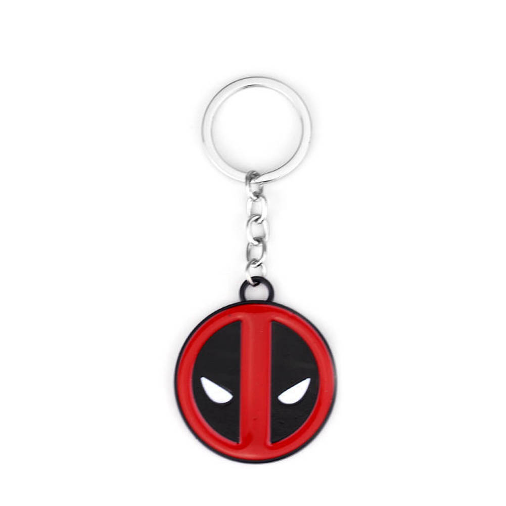 Deadpool Metal Keychain Pendant Key Chain Chaveiro Stainless Steel Key Ring 1PCS New Arrival font b