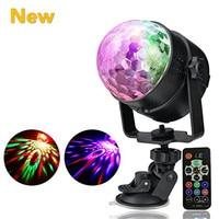 7 Colors Party Lights Disco Light Mini DJ Karaoke Balls Light Outdoor Car Entertainment Lights Christmas
