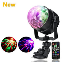 7 Colors Party Lights Disco Light Mini DJ Karaoke Balls Light Outdoor Car Entertainment Lights Christmas