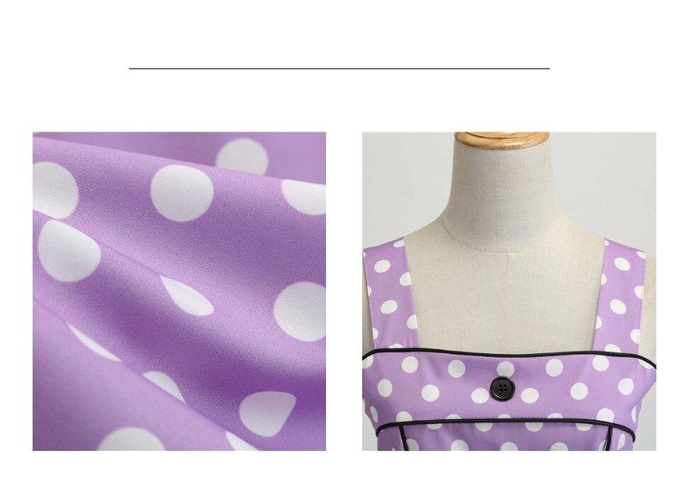 Koktejlové Retro párty šaty jednofarebné prešívaný lem bodky (5 variánt) 26