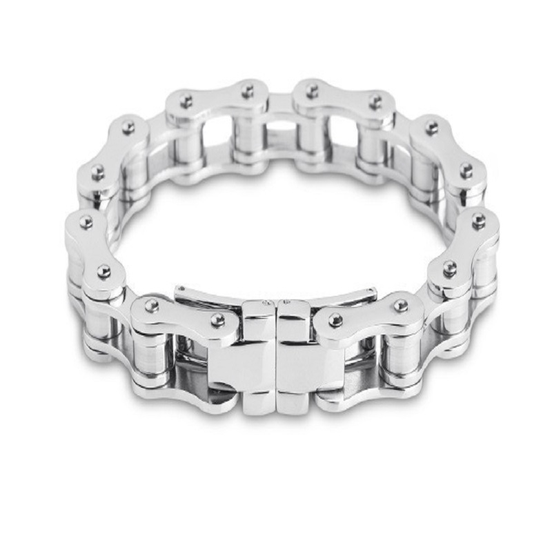 Delicate and radiation protection and environmental protection titanium steel bracelet Korean fine man