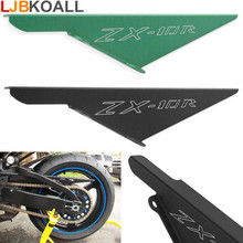 цена на Motorcycle CNC Aluminum Rear Sprocket Chain Protector Mud Guard Cover shield Panel for 2004-2005 Kawasaki ZX 10R ZX10R ZX-10R