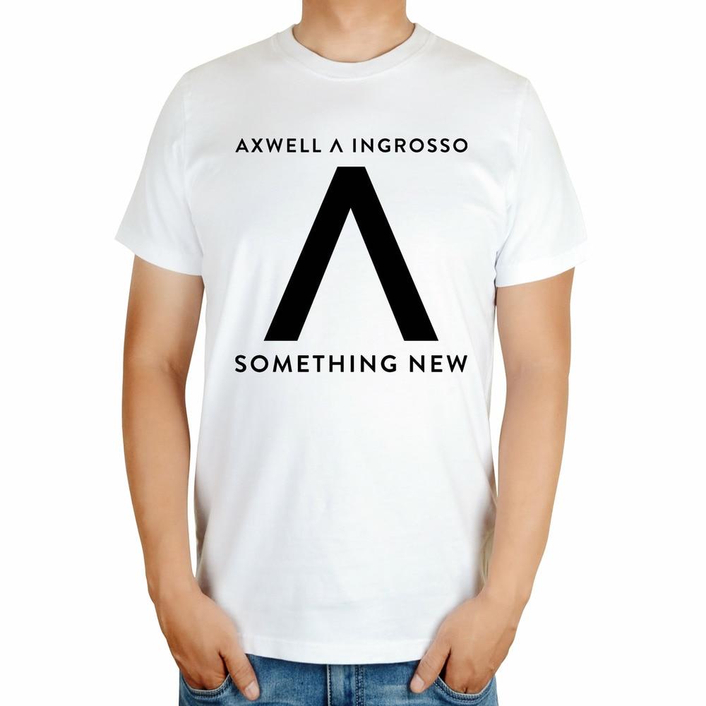 Черный, Белый Летний стиль крутая Мода AXWELL INGROSSO бренд певец Мужская диджейская футболка mma принт 3D хлопковая футболка музыка фитнес - Цвет: Бежевый