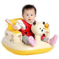 Şişme Bebek Çocuk Çocuk Banyo Öğrenmek Tabureleri Panda Bebek Kanepe Koltuk Koltuk Küçük Şişme Taşınabilir Bebek Sandalyesi Takım 3 M-24 M