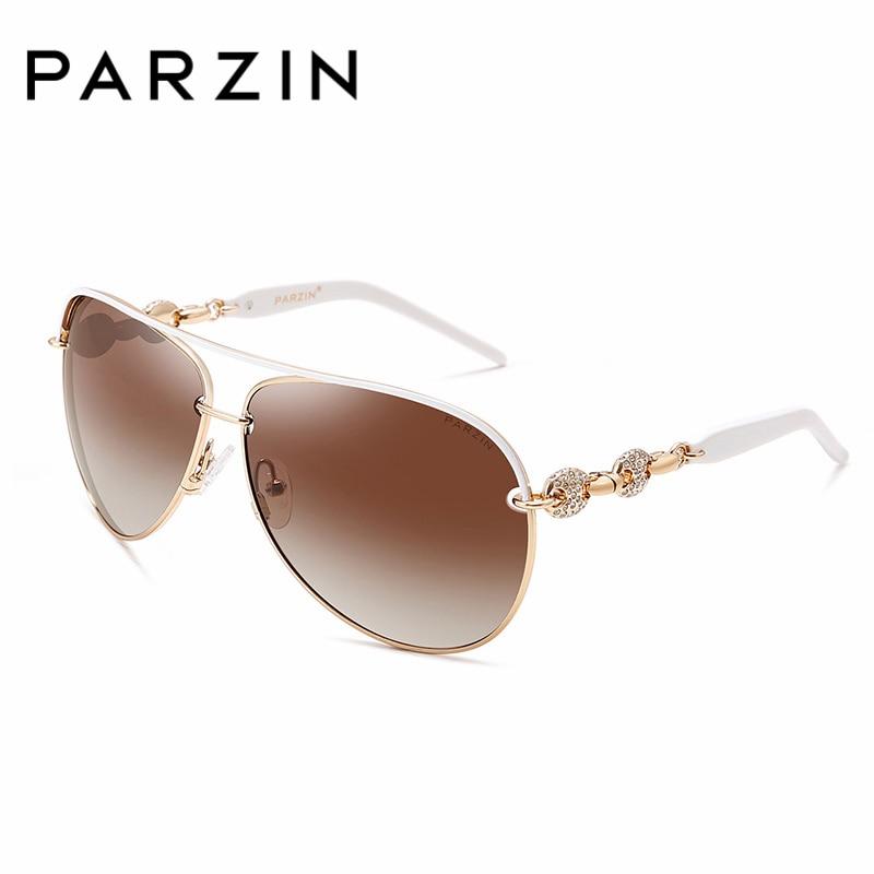 PARZIN De Luxe Diamant Polarisé Femmes Lunettes De Soleil Élégant - Accessoires pour vêtements - Photo 4