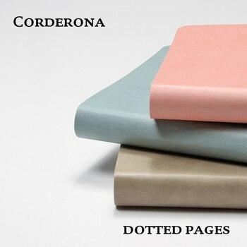 Dot Grade Simples Mão Pontilhada Caderno Diário Jornal Livro Bala Bujo