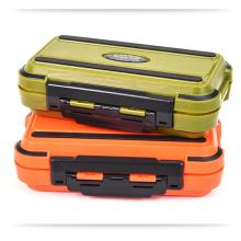 Mounchain Portable Waterproof Storage Case Fly Fishing Box Fish Lure Spoon Hook Bait Tackle