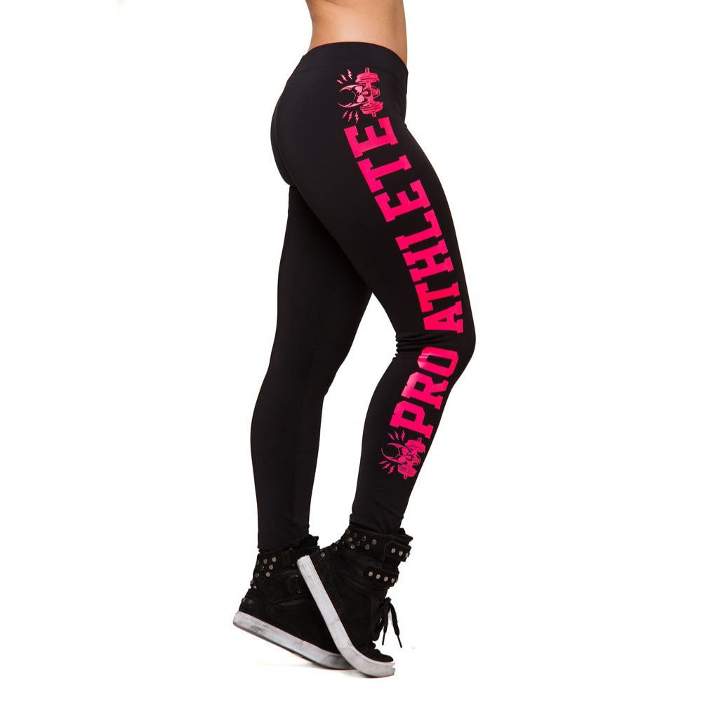 2016 New Styles Women Sporting Leggings Fitness Letter Printed Workout Pants Leggins Calzas Legging Academia Mulher