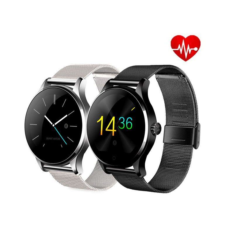 Bluetooth Smart Watch Round Screen Support Sport Heart Rate Monitor For Android IOS Phone Remote Camera Clock Smartwatch цена 2017